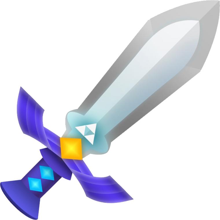 Blade clipart espada Legend Zelda: Worlds by Between