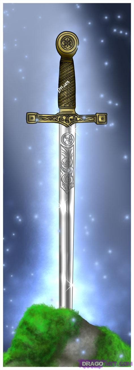 Drawn weapon legendary In Step sword the Swords