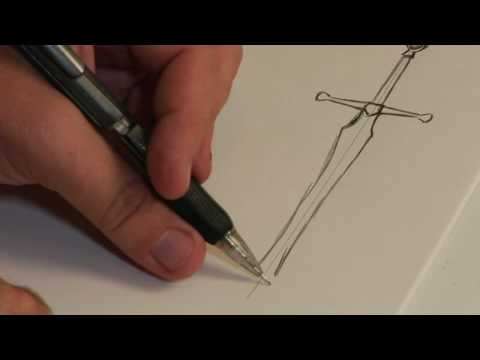 Drawn weapon medieval Weapons Drawing  Draw YouTube