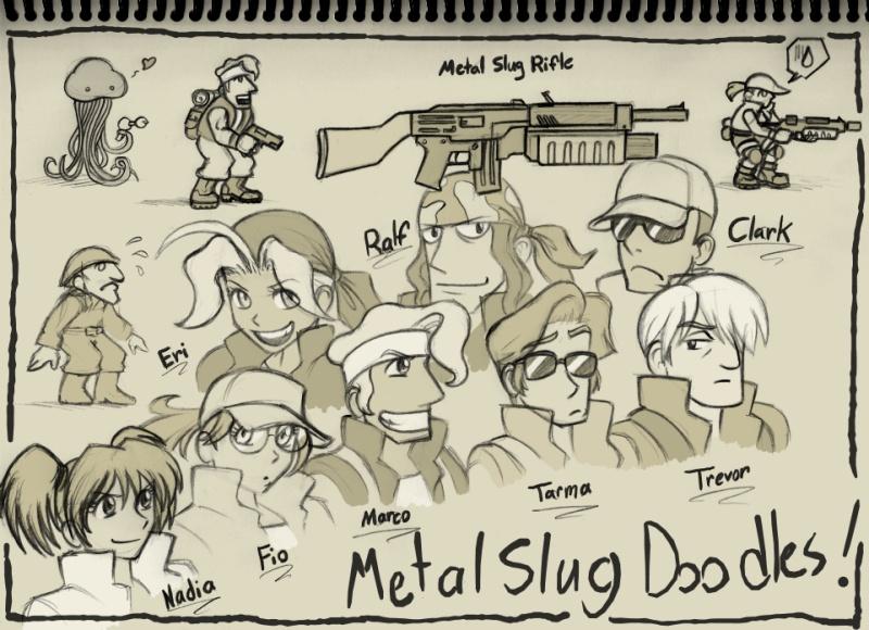 Drawn weapon metal slug By doodle Find Pin Slug!!!