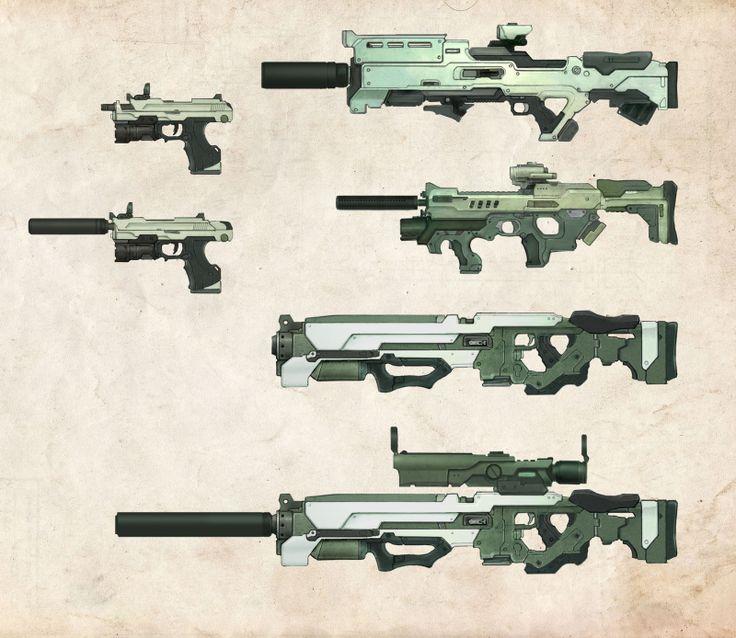 Drawn weapon prototype Bflynn22 DS via Bryan 133
