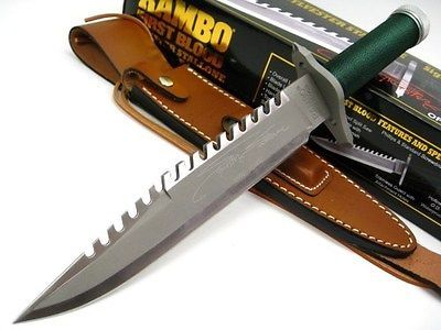Drawn weapon rambo Best Sheath! Blood images LIMITED