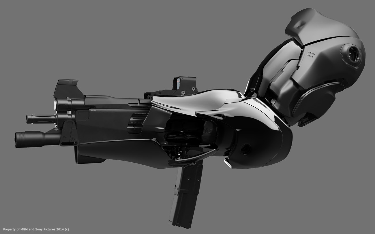 Drawn weapon robocop 2014 ROBOCOP Awesome Weapons Concept Art