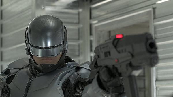 Drawn weapon robocop 2014 Winter's RoboCop's Academy; Vargo's of