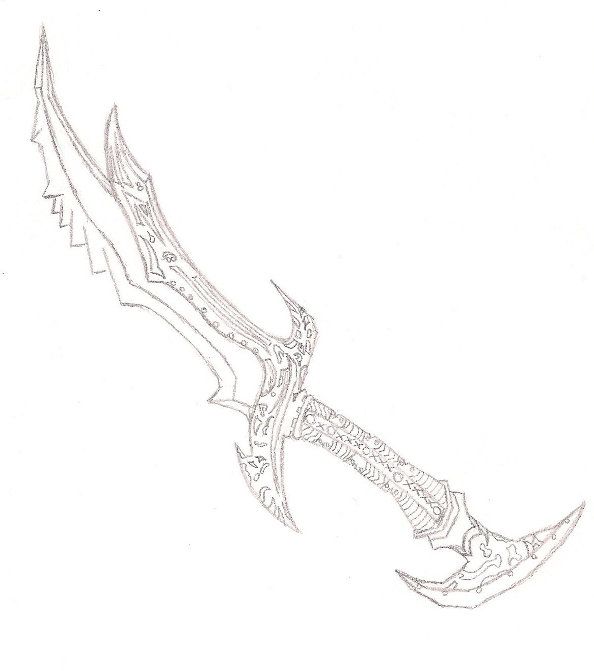 Drawn weapon skyrim FailedxExperimentx13 Sword FailedxExperimentx13 Daedric Daedric