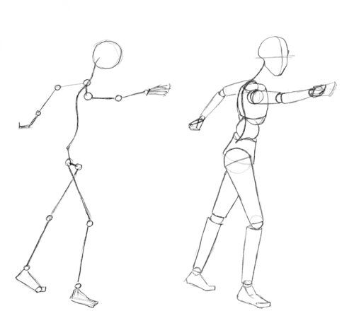 Drawn weapon stick figure Learn – Drawing 25+ 15