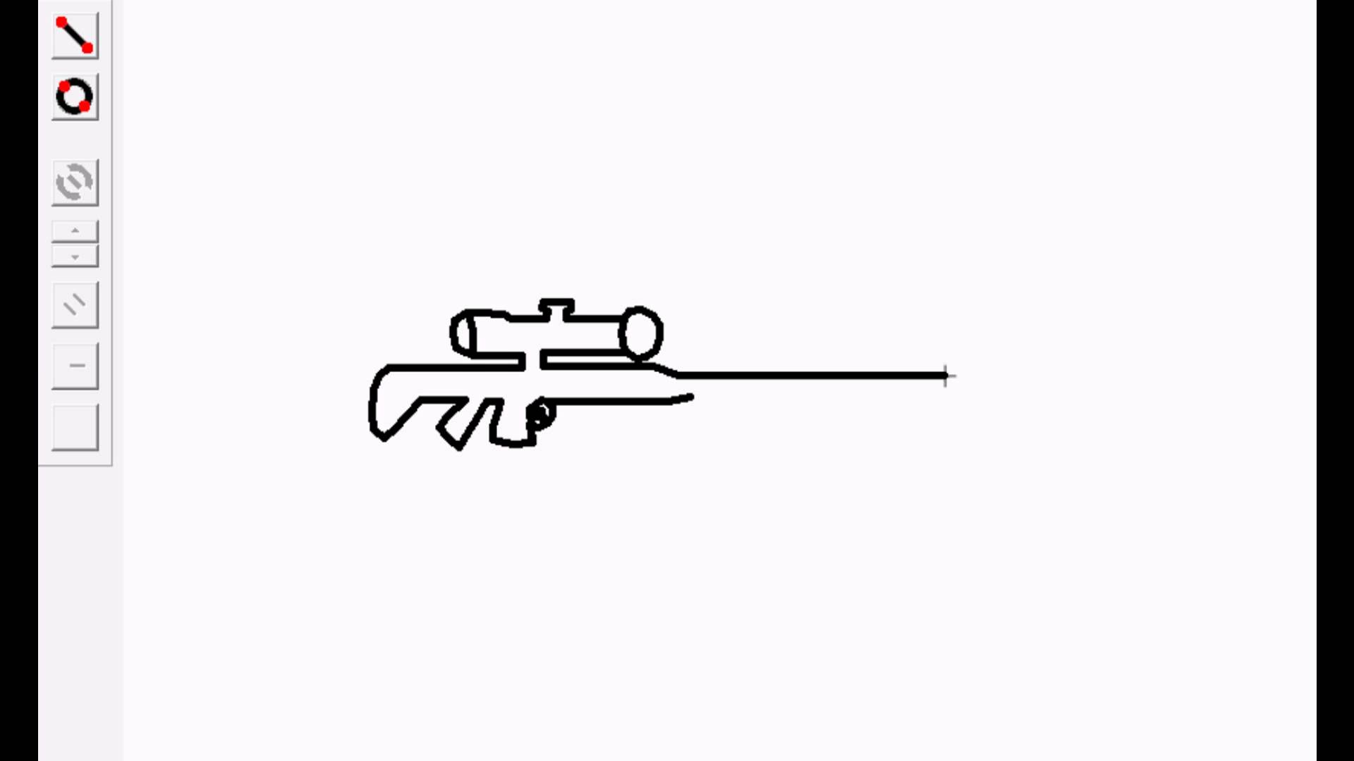 Drawn weapon stick figure How Pivot(Sniper) in a to