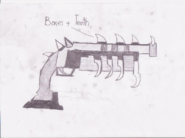 Drawn weapon strong Only user Weapon! as as