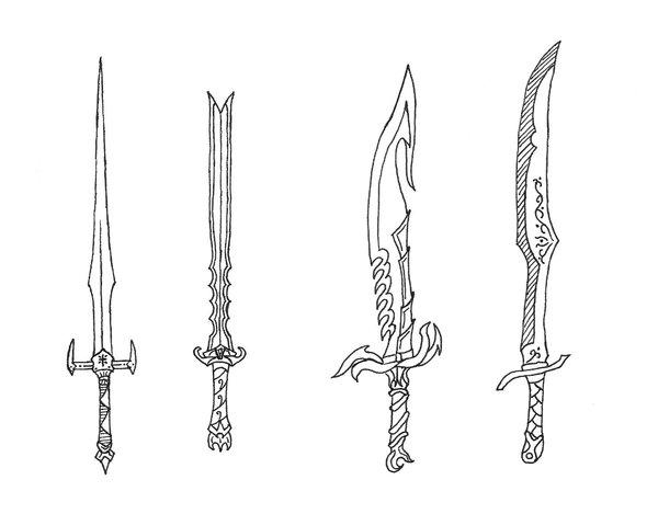 Drawn weapon sword Swords Bladedog Bladedog by Swords