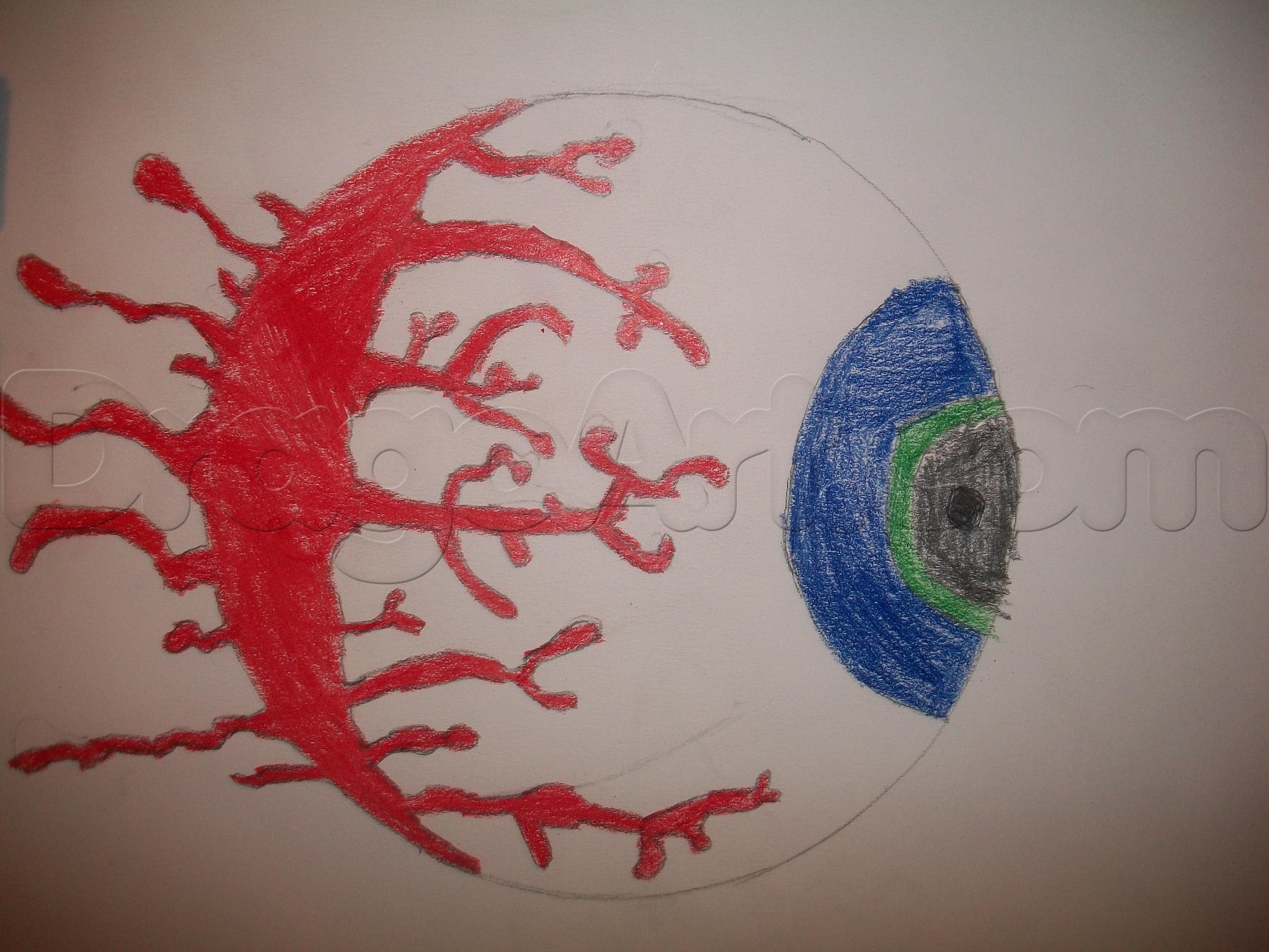 Drawn eyeball real life Draw terraria by how How