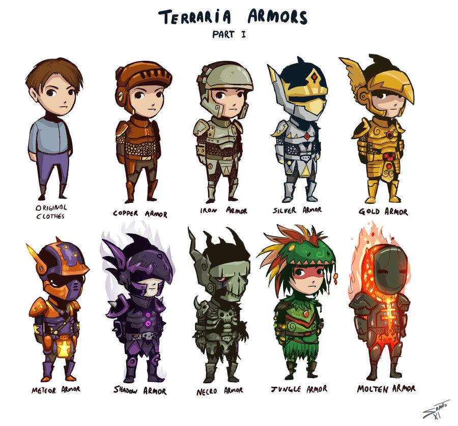 Drawn weapon terraria hardmode Deadinsane deadinsane Armors by on