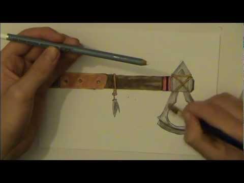 Drawn weapon tomahawk 3 YouTube Tomahawk 3 Creed