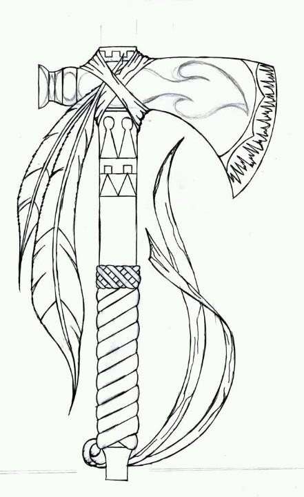 Drawn weapon tomahawk LiLz Tomahawk Tomahawk  drawings