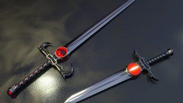 Drawn weapon top ten Top 10 Guns Swords Machine