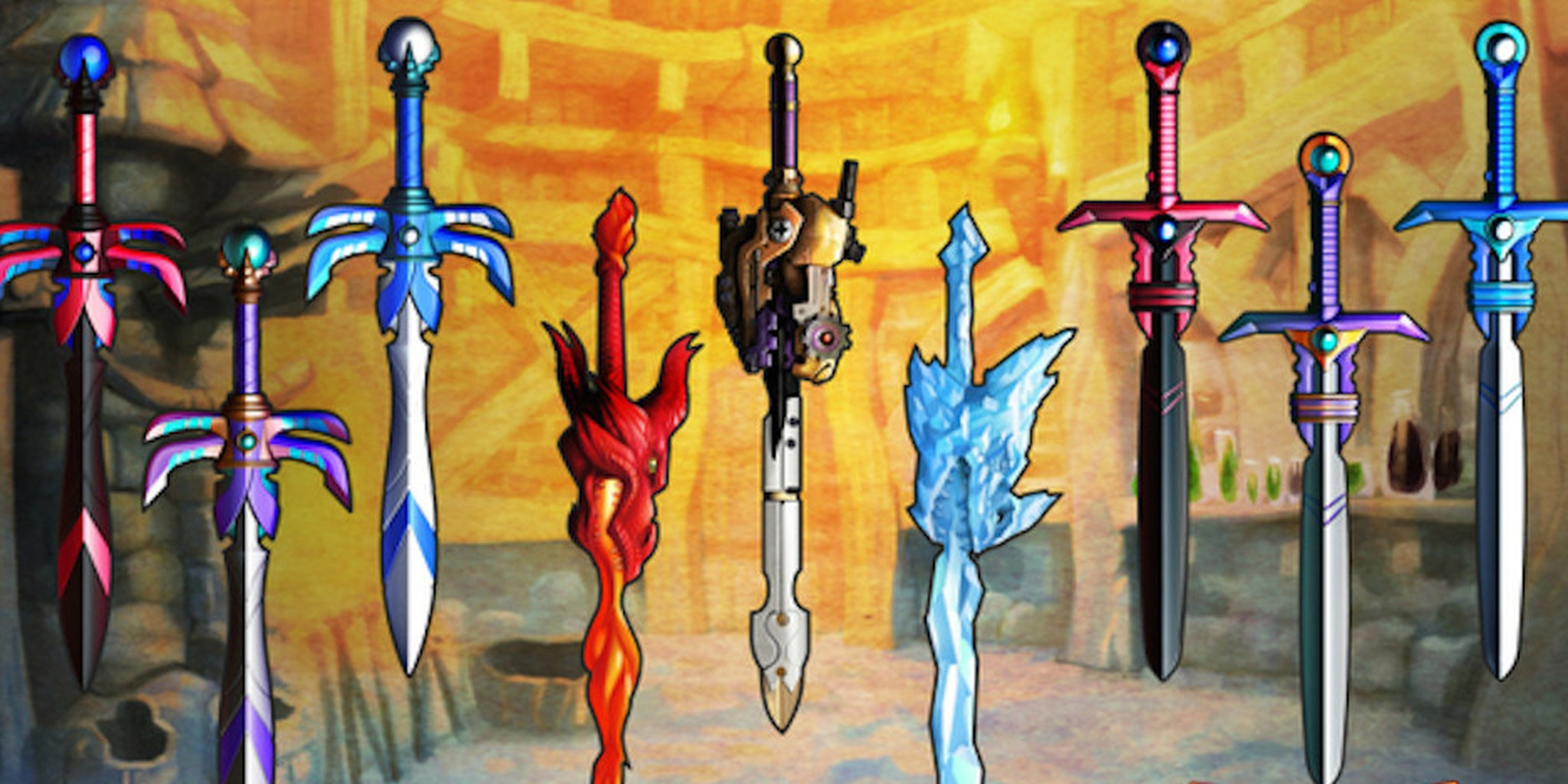 Drawn weapon toy sword Makes swords the awesome ever