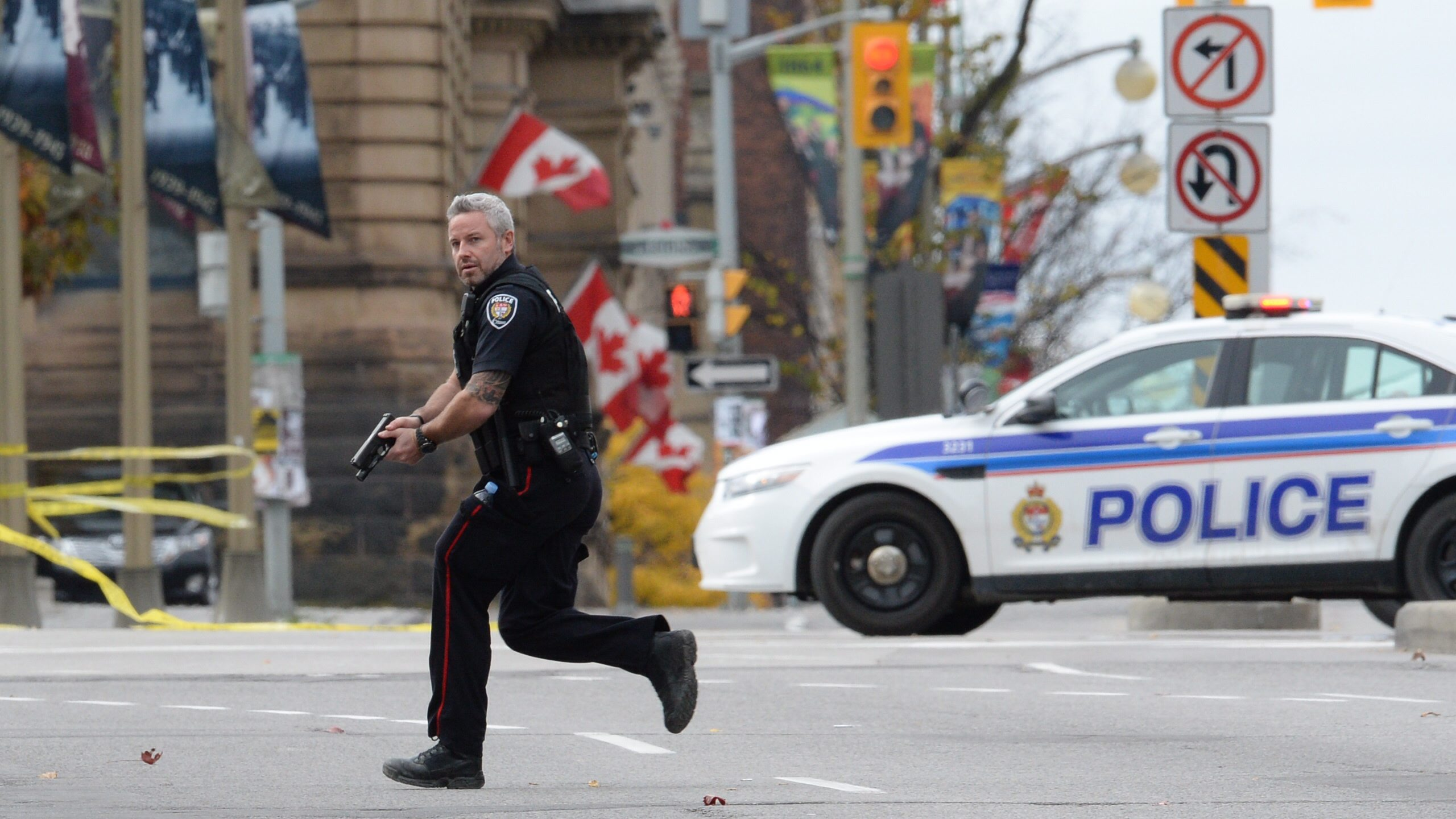 Drawn weapon unknown The identified attack Canada Gunman