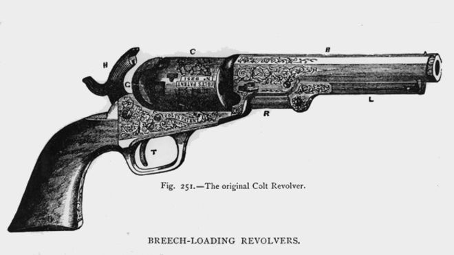 Drawn weapon victorian era Colt shot Strangeness: Victorian