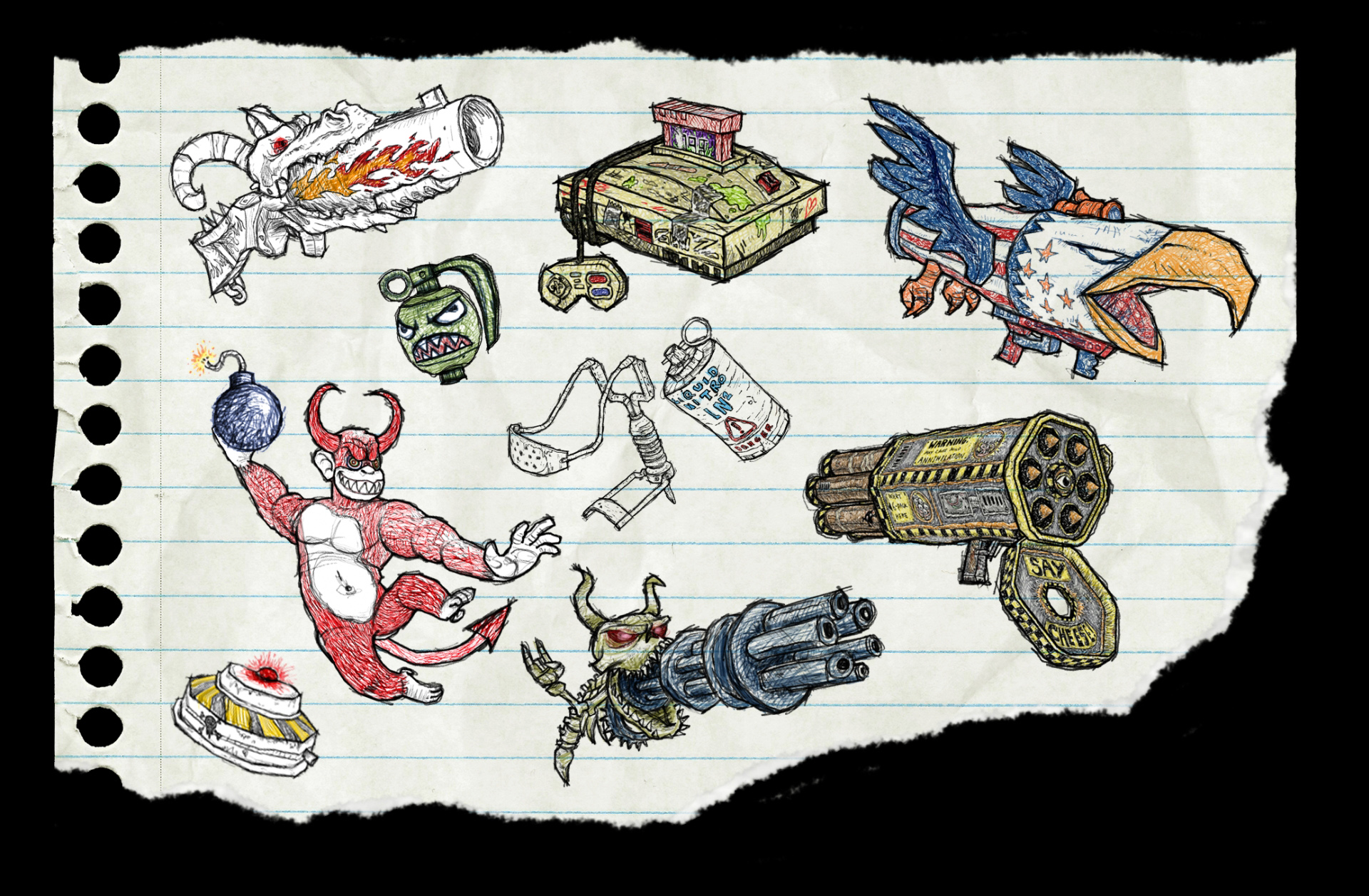 Drawn weapon wepon Death  Drawn Weapons To
