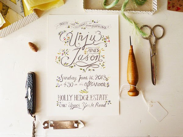 Drawn wedding Drawn mywedding drawn Invitations hand