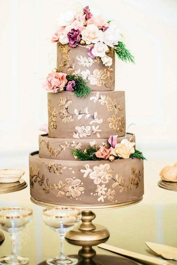 Drawn wedding cake Ideas Pinterest cakes best on