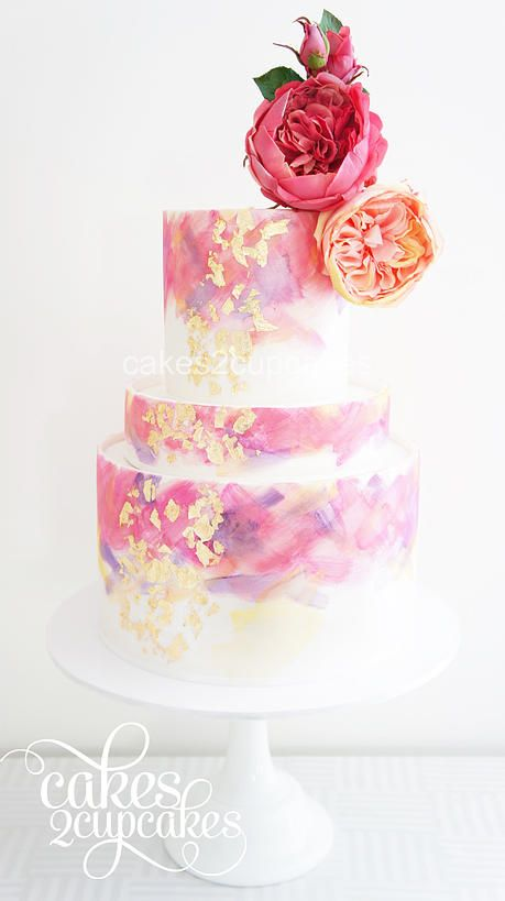 Drawn wedding cake just Painted Hand best on 25+