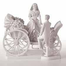 Drawn wedding cake just Figurine WEDDING Coach Wedding CAKE