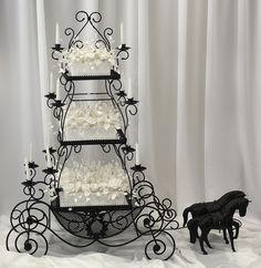 Drawn wedding cake just Wedding was The Caketress image