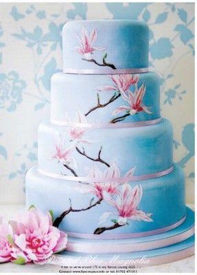 Drawn wedding cake just 50 Cake Cake Wedding Inspirations