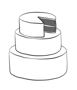 Wedding Cake clipart layer cake Très tier 8