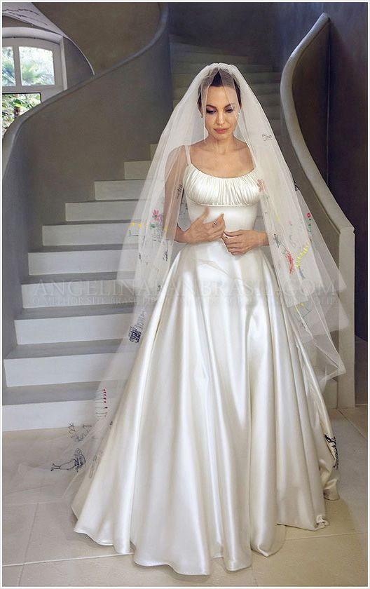 Drawn wedding dress angelina jolie #10
