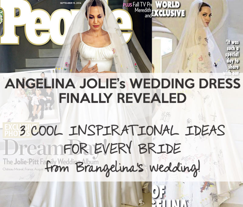 Drawn wedding dress angelina jolie #14
