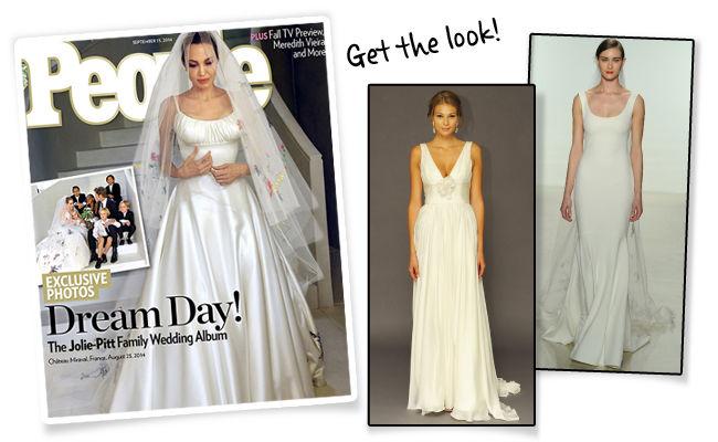 Drawn wedding dress angelina jolie #7
