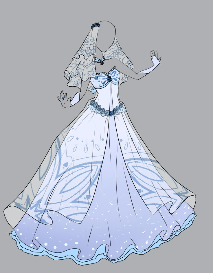 Drawn wedding dress anime Knight ideas 25+ Outfit drawings