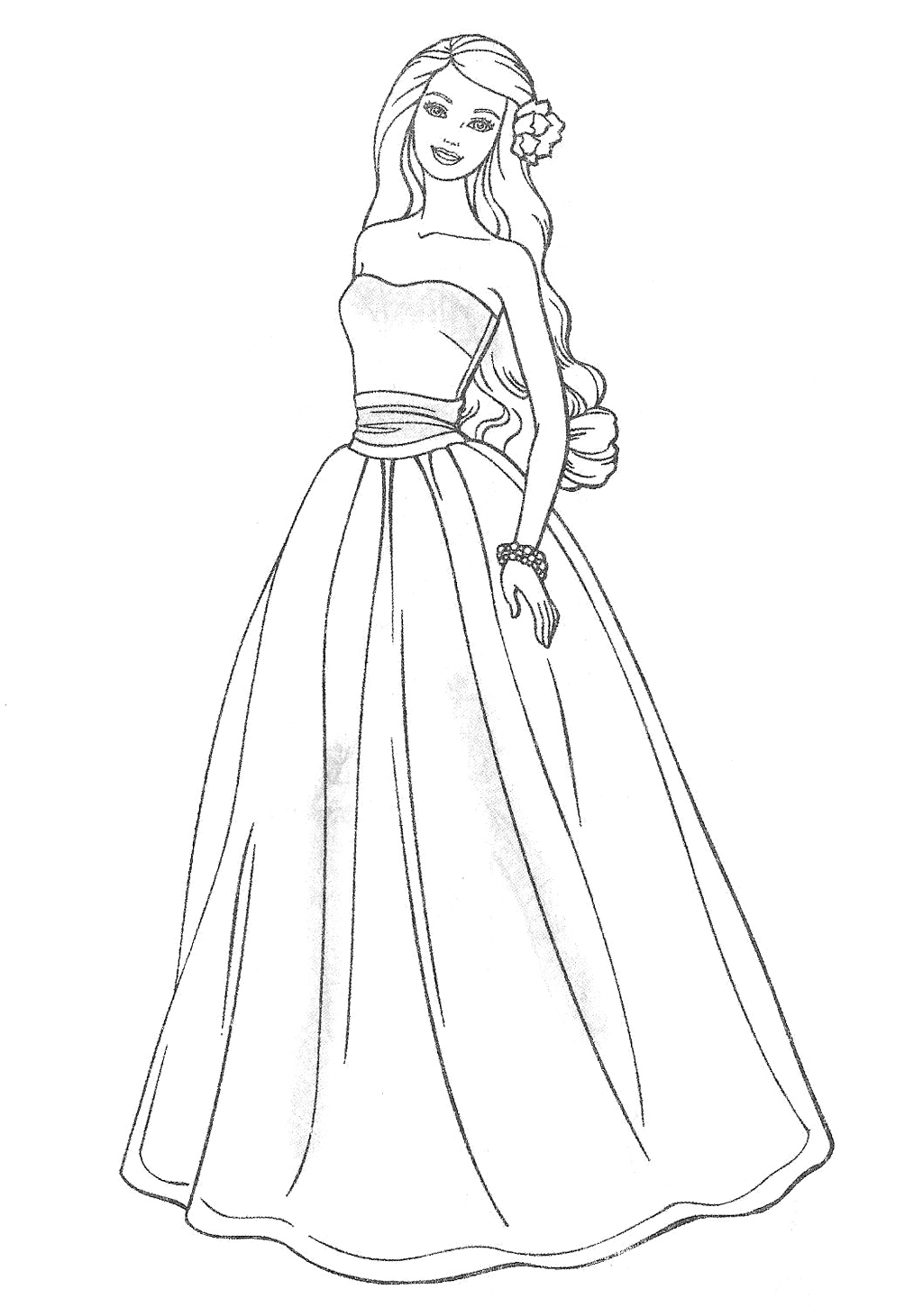 Drawn barbie gown wallpaper Pages Party Pages for