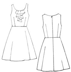 Drawn wedding dress easy Of dress how Search princess
