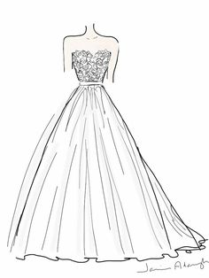 Drawn wedding dress easy To to About Dress