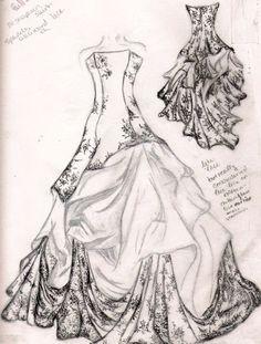 Drawn wedding dress fancy dress Wedding Search Wedding wedding gown