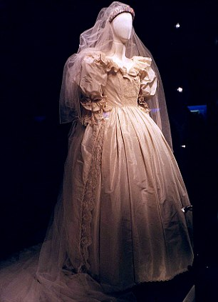 Drawn wedding dress ghostly #3