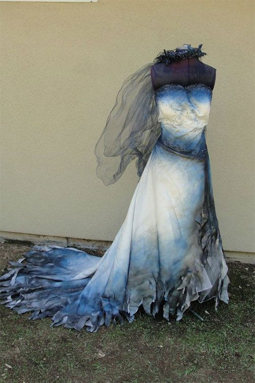 Drawn wedding dress ghostly #9