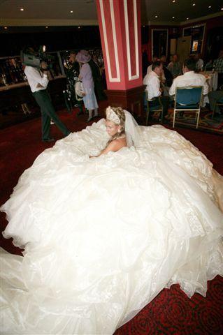 Drawn wedding dress giant #12