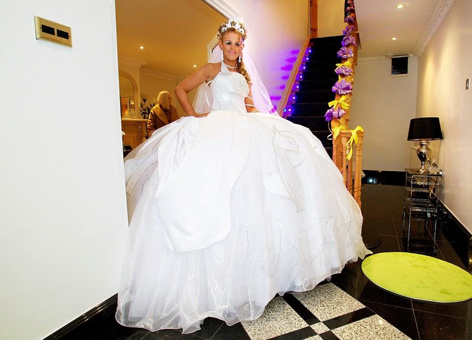 Drawn wedding dress giant #15