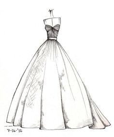Drawn wedding dress queen Sketch wedding pencil sketches wedding