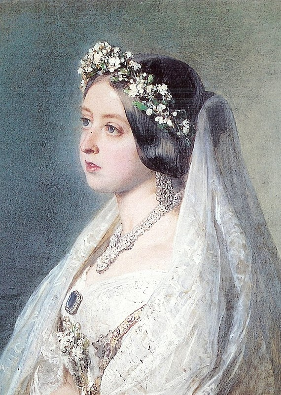 Drawn wedding dress queen Victoria & Dress her VICTORIA