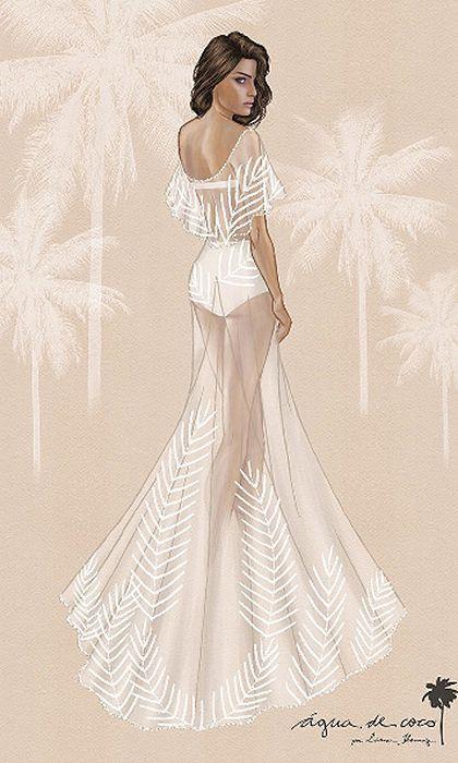 Drawn wedding dress really #12