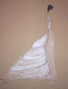 Drawn wedding dress really #10