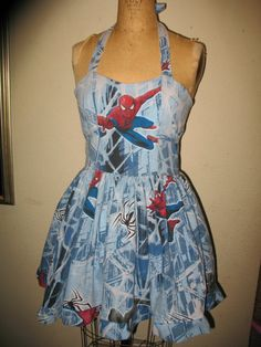 Drawn wedding dress spiderman #13