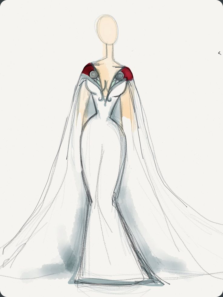 Drawn wedding dress thor Of Dresses Wedding Thor dressses