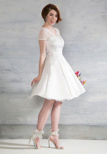 Drawn wedding dress vintage dress ModCloth images Flare 77 and