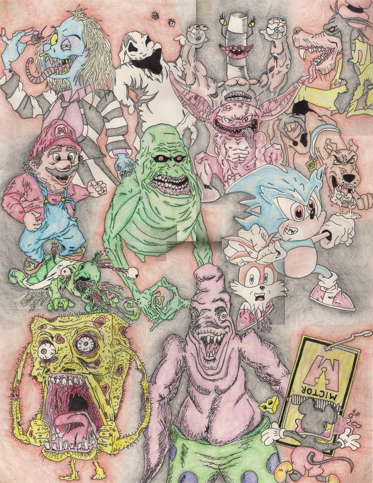 Drawn randome collage #3