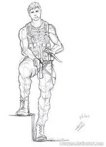 Drawn weed army Images Male Soldier Drawing Female